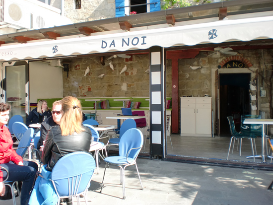 Da Noi Cafe in Piran Slovenia