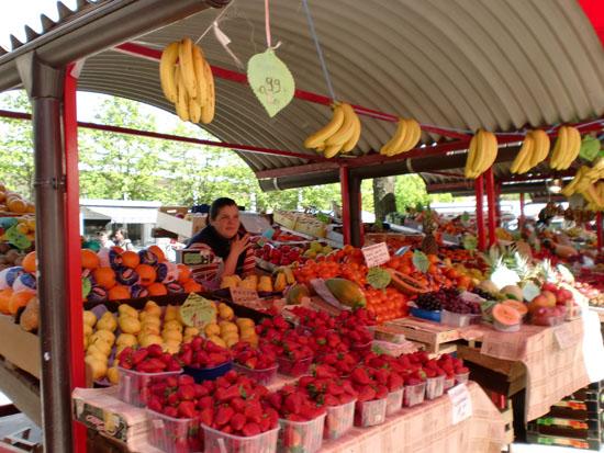 Ljubljana Markets, Slovenia