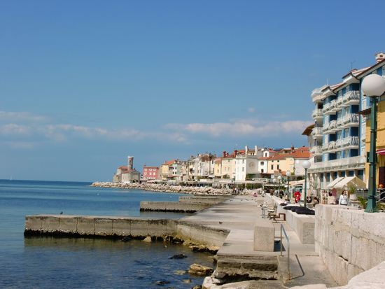 Piran Waterfront, Slovenia