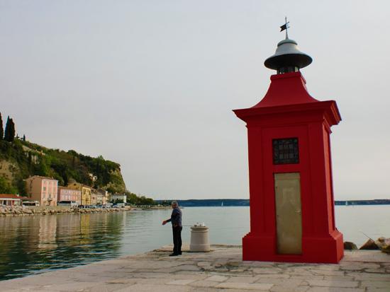 Piran Harbour in Slovenia