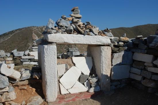 Homer's Tomb in Ios, Greek Islands