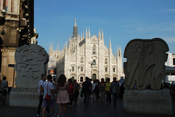 Milan's Duomo from a Distance