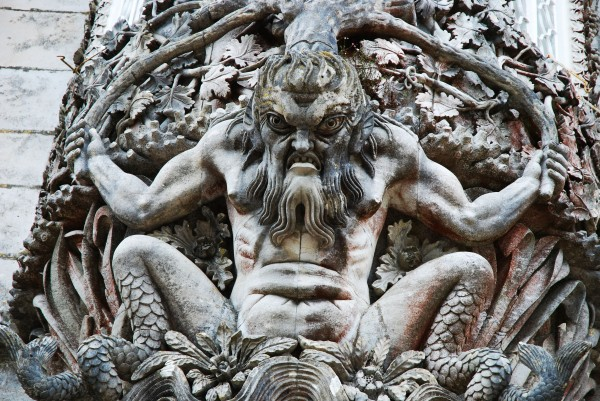 Mythological Creature at Pena Palace, Sintra