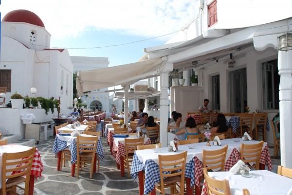 Nikos Taverna, Mykonos, Greece