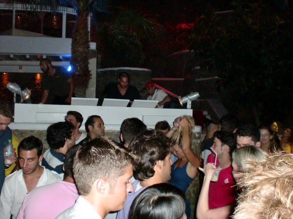 Hed Kandi at Paradise Club on Paradise Beach, Mykonos, Greece
