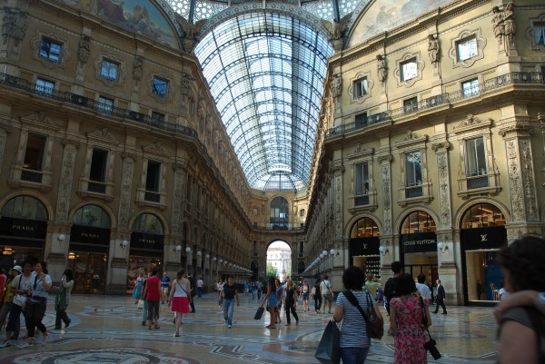 Shopping Arcade in Milan
