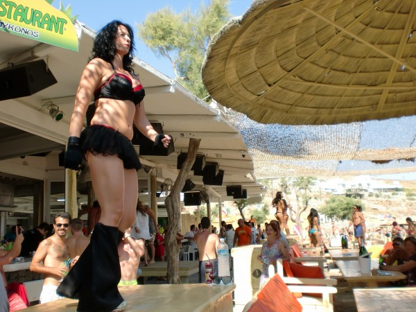 Tropicana Beach Bar, Mykonos, Greece