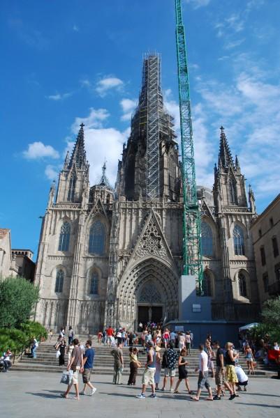 Barcelona Cathedral in Barcelona, Spain