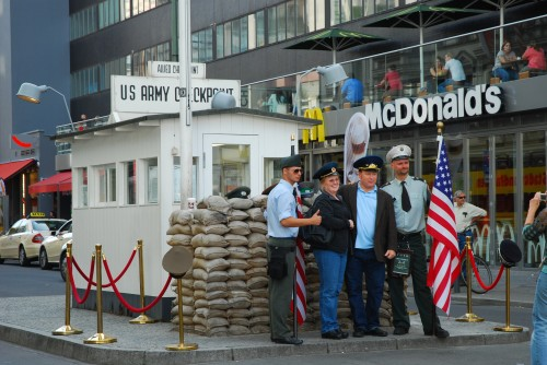 Checkpoint Charlie in Berlin