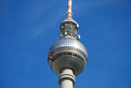 Fernsehturm TV Tower in Berlin