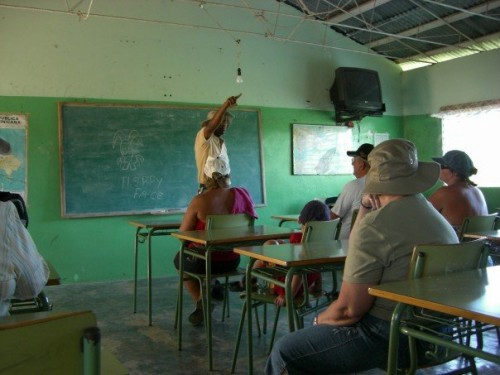 local school in the Dominican Republic countryside