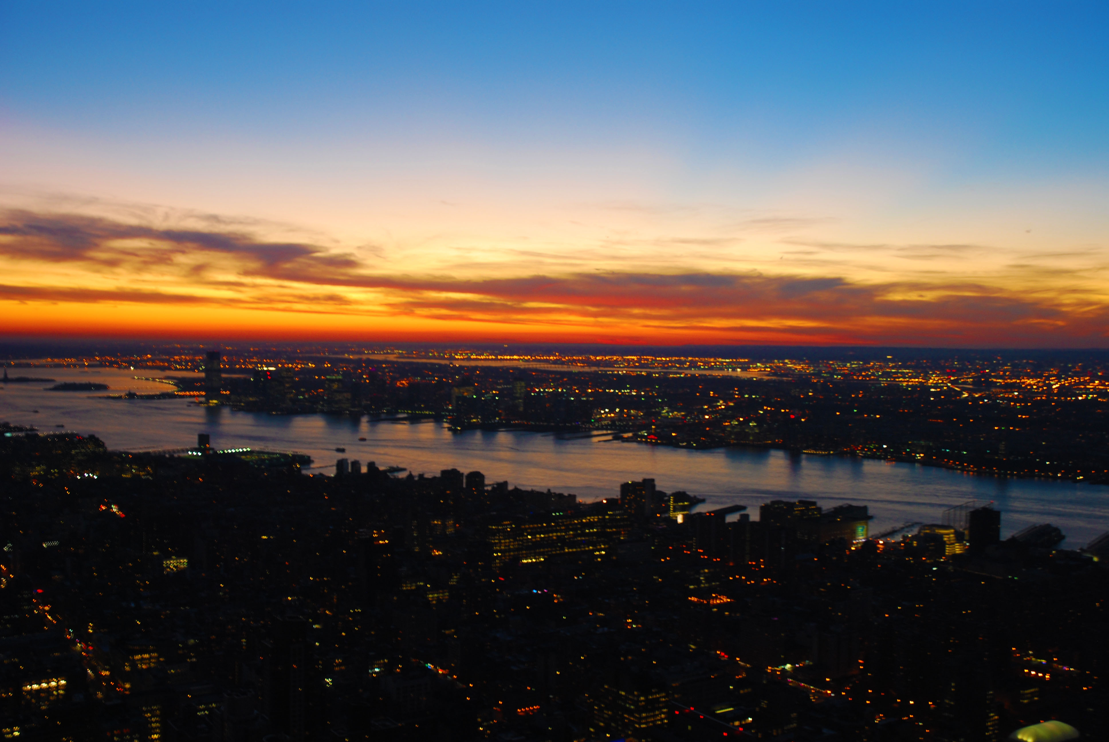empire state building sunset - photo #44