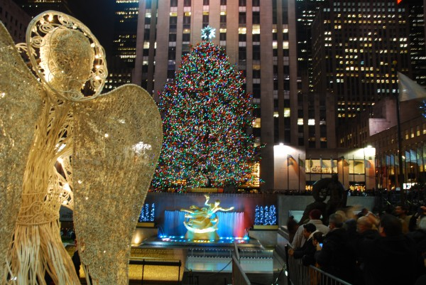 Rockerfeller Center Christmas tree