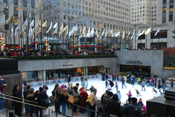 Rockerfeller Ice Rink