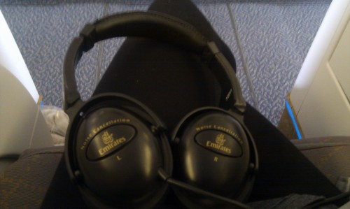 Emirates Noise Cancelling Headset