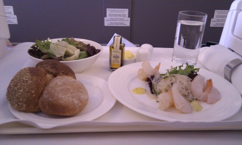 Starters Emirates Business Class