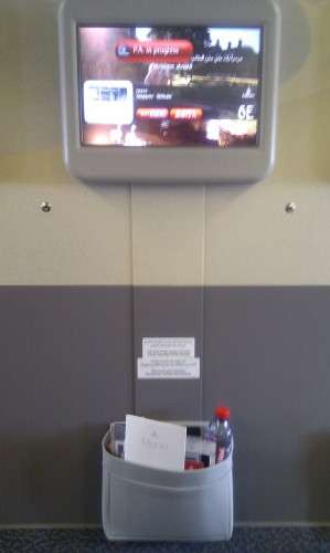 Personal TV Emirates Business Class