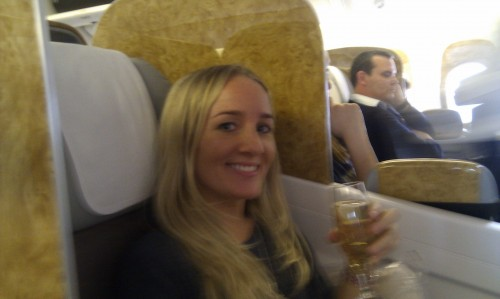 Upgraded to Business Class on Emirates