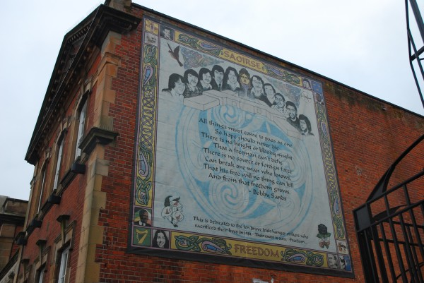 Catholic Mural Belfast