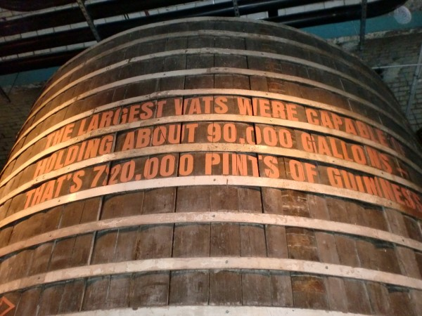 Guinness Storehouse Barrel
