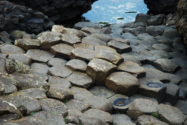 Hexagonal Rocks, The Giant's Causeway