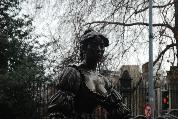 Statue of Molly Malone in Dublin