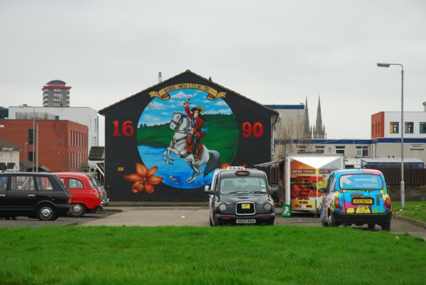 William of Orange Mural in Belfast