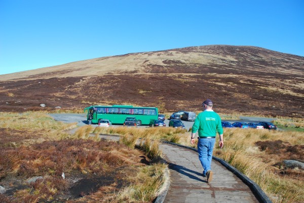 Paddywagon in the Wicklow Mountains