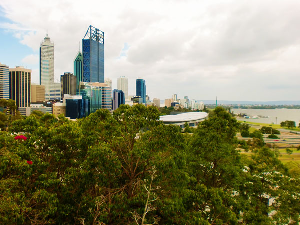 View from Kings Park, Perth