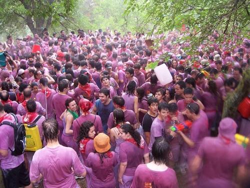 Batalla de Vino, Haro Wine Festival, Spain