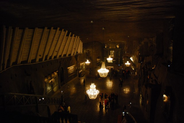 Chapel of St.Kinga in Wieliczka Salt Mine, Poland