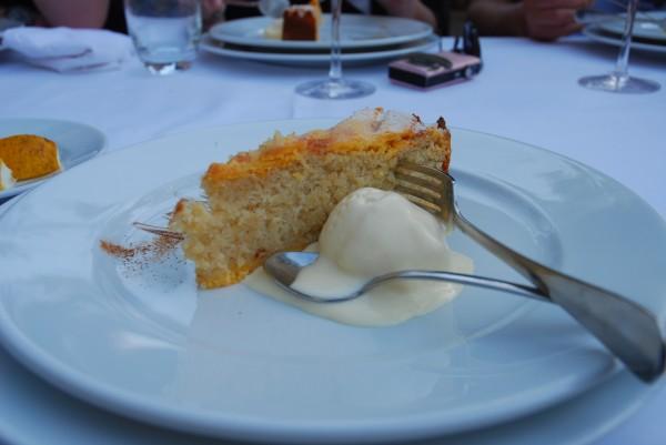 Dessert Stari Mlini restaurant, Montenegro