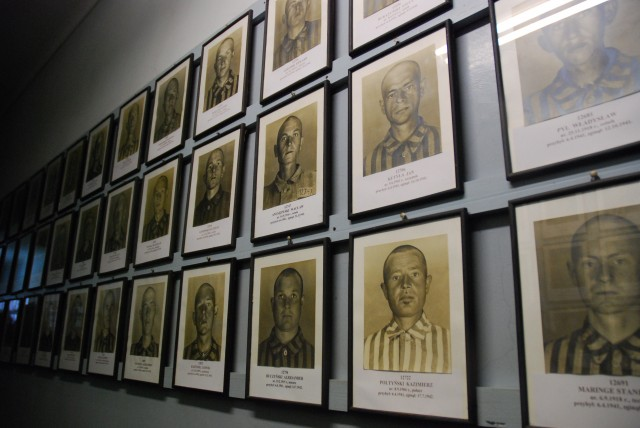 Portrait Photogaphs of Male Prisoners at Auschwitz