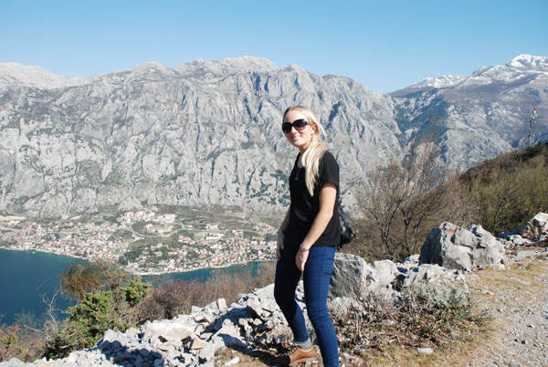 Me in the Montenegro Mountains