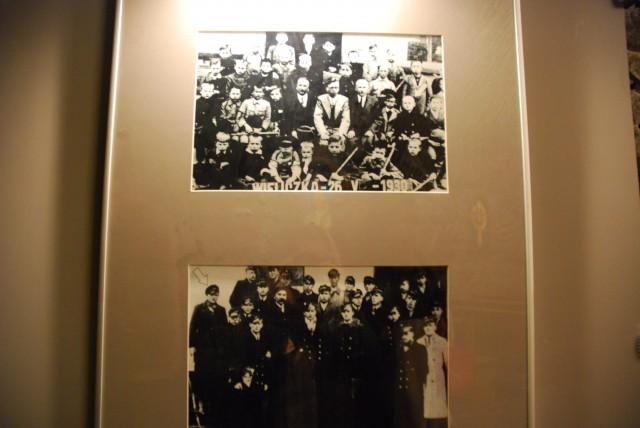 Pope Jean Paul II School Picture at Wieliczka Salt Mine