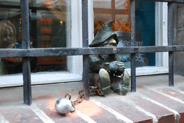 Prisoner Gnome Wroclaw, Poland