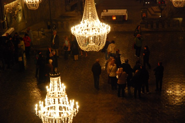 St. Kinga Chapel at Wieliczka Salt Mine, Poland