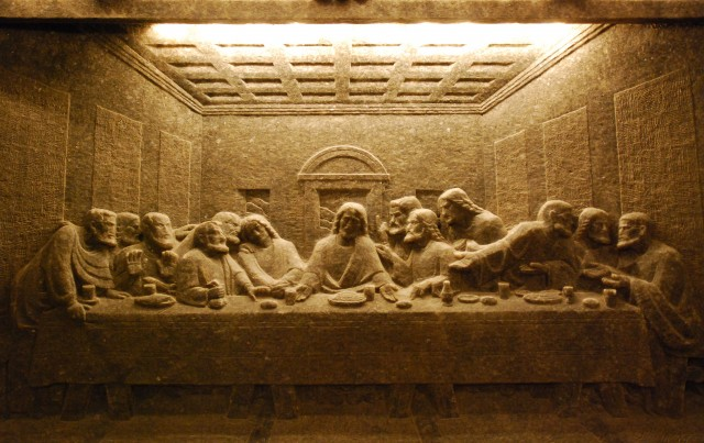 The Last Supper Wieliczka Salt Mine