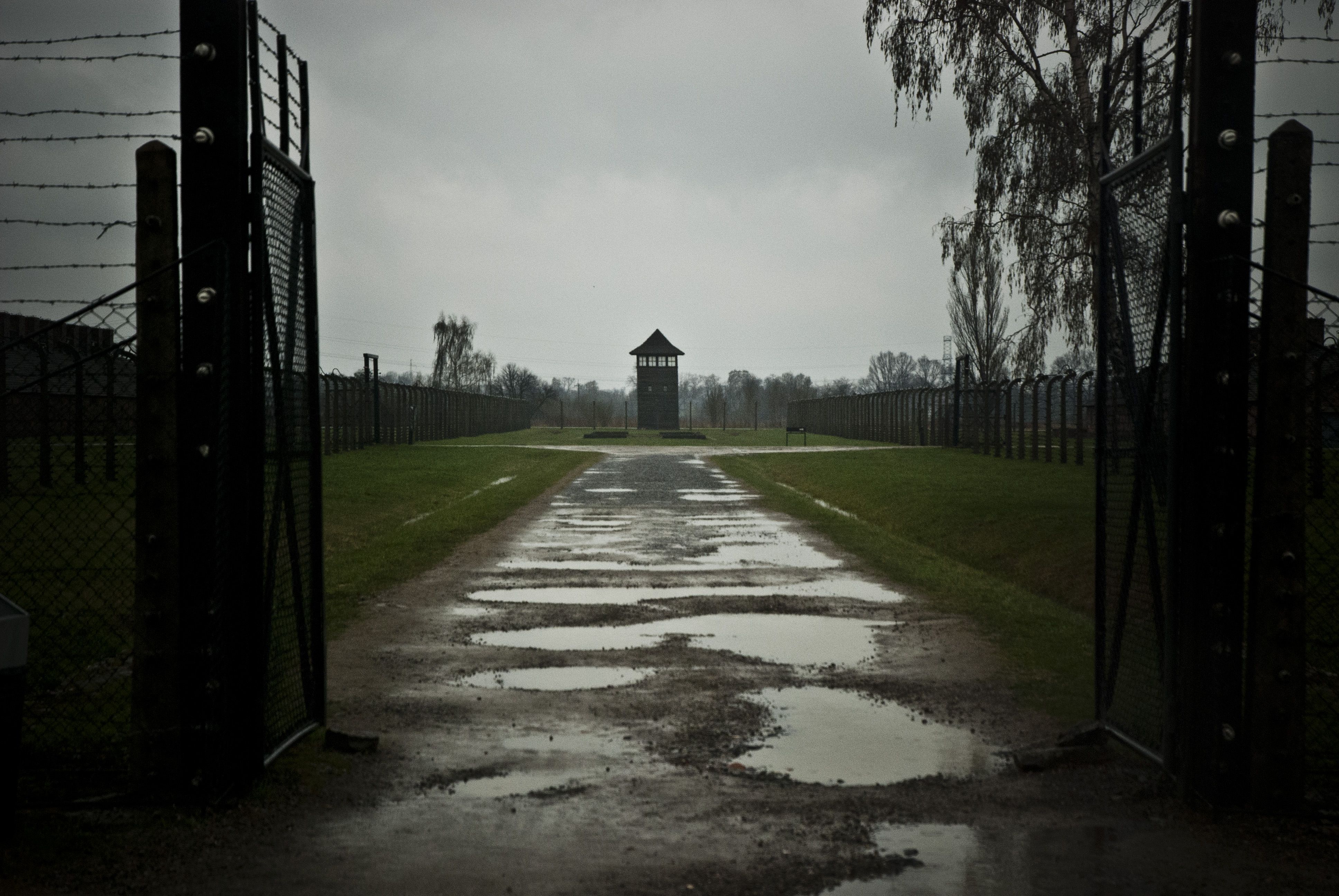 Watch Tower at Birkenau
