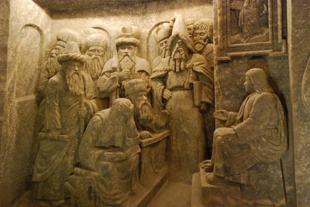 Wieliczka Salt Mine Bas Relief