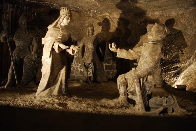 Wieliczka Salt Mine Sculptures, Poland