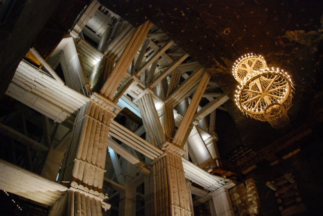 White Tower construction at Wieliczka Salt Mine