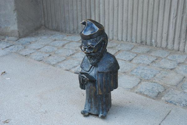 Wroklaw Gnome, Poland