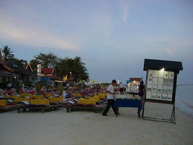 Restaurants on Chaweng Beach, Koh Samui