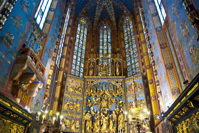 St.Mary's Basilica Krakow, Poland