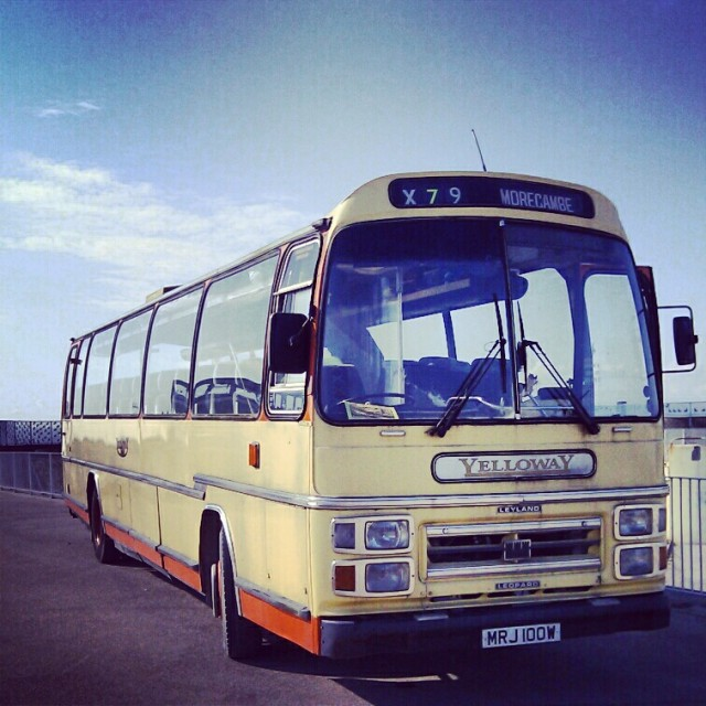 Vintage Bus in Morecambe England