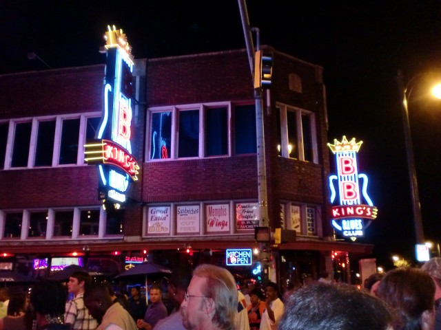 B.B Kings Blue Club Beale Street Memphis