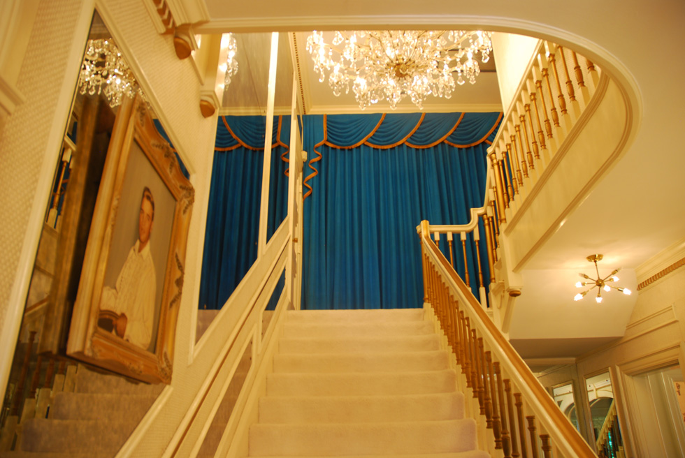 The Stairway at the Elvis Presley Graceland Mansion