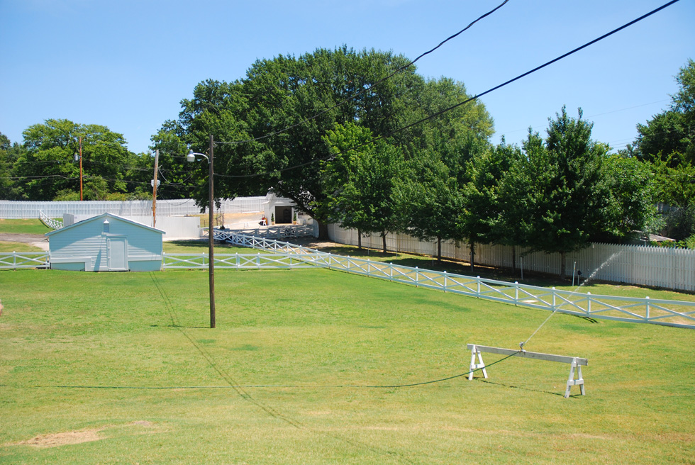 Elvis Presley's Graceland Horse Paddock and Stables