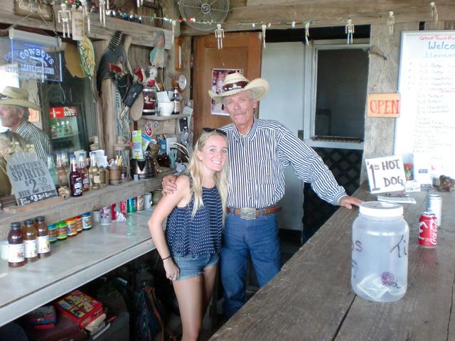 Bartender at J Lorraine Ghost Town Austin